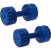 Aurion PVC3  Dumbbell Set, 3Kg x 2 (Blue)