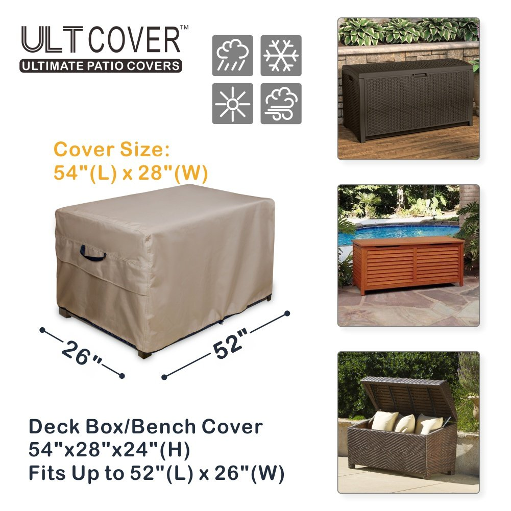 Ult Cover Patio Deck Boxstorage Bench Cover 100 Waterproof