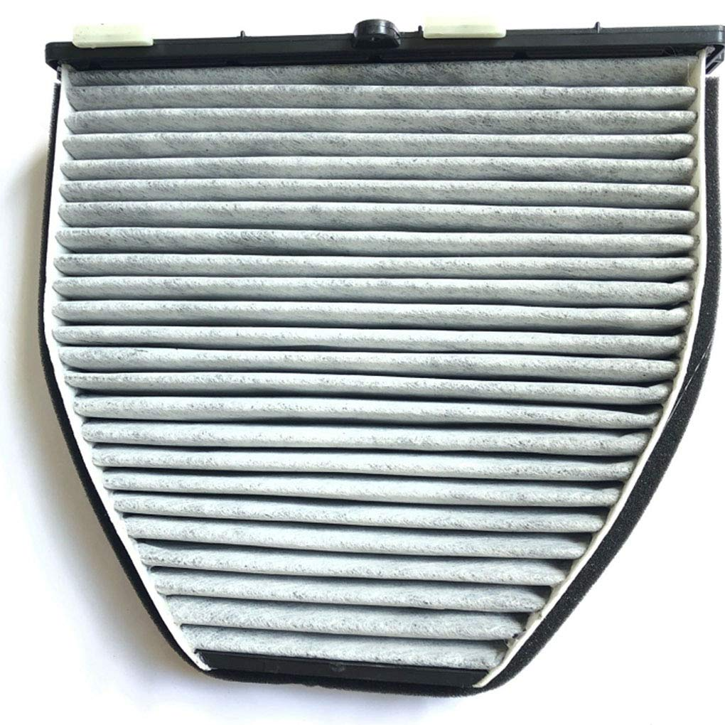 Topker Car Cabin Efficient Air Conditioner Filter Actived Carbon Air Cleaner Replacement for Mercedes W212 E350 GLK350 CUK29005