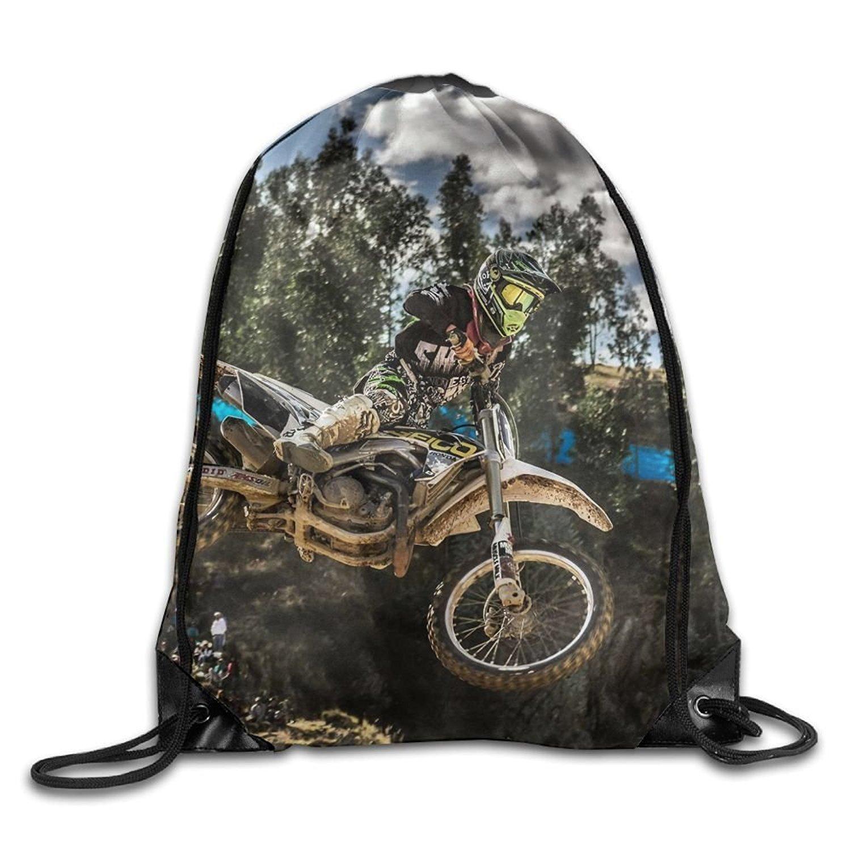 Yesliy motocross sport moto veicolo unisex Outdoor zaino borsa a tracolla sport con coulisse zaino