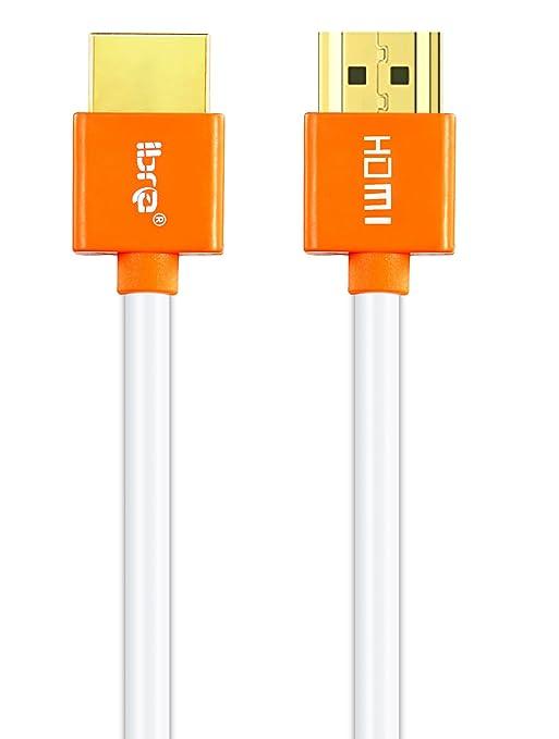 7 opinioni per 1m Cavo HDMI 2.0 | High Speed con Ethernet | 3D ARC FULL HD 1080p UHD 4k 2160p e
