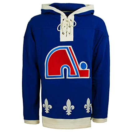Amazon.com    47 Quebec Nordiques NHL Heavyweight Jersey Lacer ... 9d2b589678f