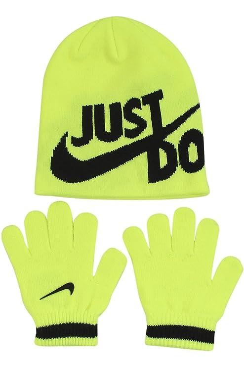 8744bcfc2 Nike Boy`s Knit Beanie & Gloves Set