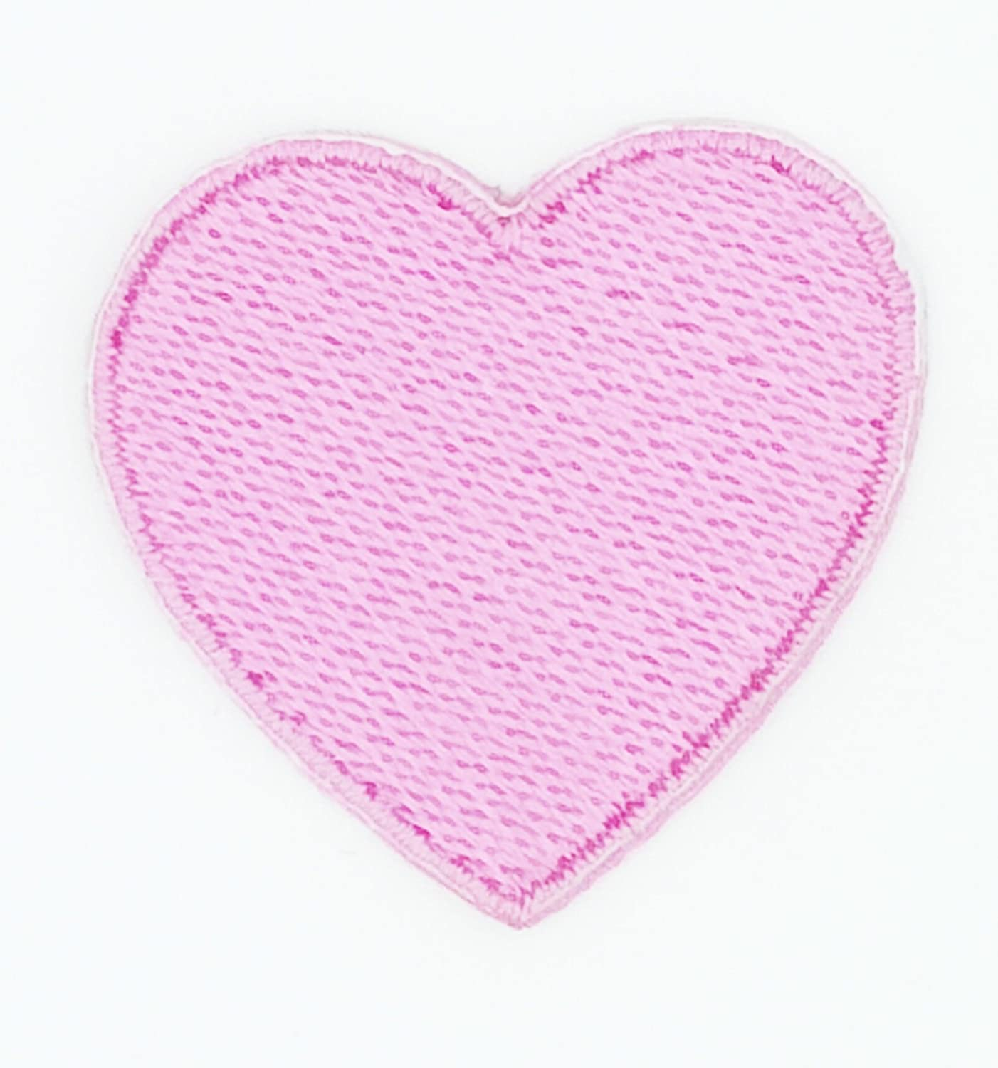 Pink Heart Sequin Patches\uff0cDIY Punk Heart Pattern Embroidered Applique Sewing Stickers Large Patch Paillette Patches For Clothing BG14