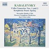Kabalevsky - Cello Concertos Nos 1 & 2; Spring