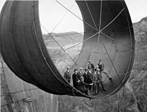 Historical Vintage Old Photos 8 x 10 onstruction-hoover-dam