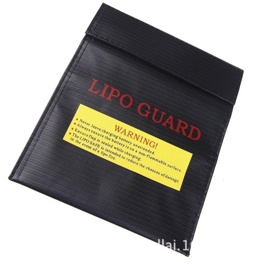 2pcs S 64*50*95MM 1 paracity armario de seguridad de la bater/ía LiPo Safe Guard Bolsa de carga Protecci/ón Bolsa Bolsa a prueba de explosi/ón