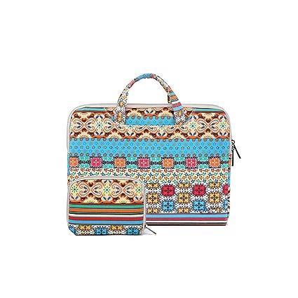 ecb772deb105 Amazon.com: Laptop Bag Fashion Laptop Bag for MacBook Air Canvas Pc ...