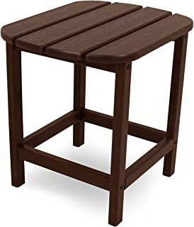 """product image for POLYWOOD SBT18MA South Beach 18"""" Outdoor Side Table, Mahogany"""
