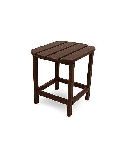 Amazoncom POLYWOOD SBTMA South Beach Outdoor Side Table - Polywood coffee table