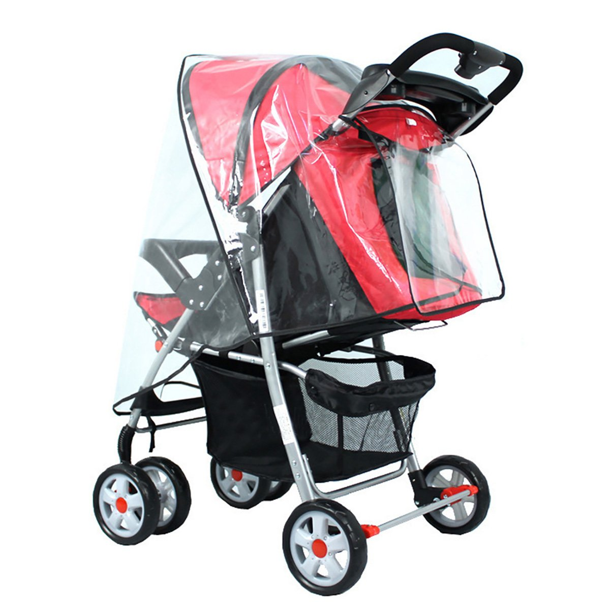 Baby Stroller Rain Cover, CozyLine Travel Outdoor Universal Pushchair Rain Cover Large for Stroller Pram Buggy