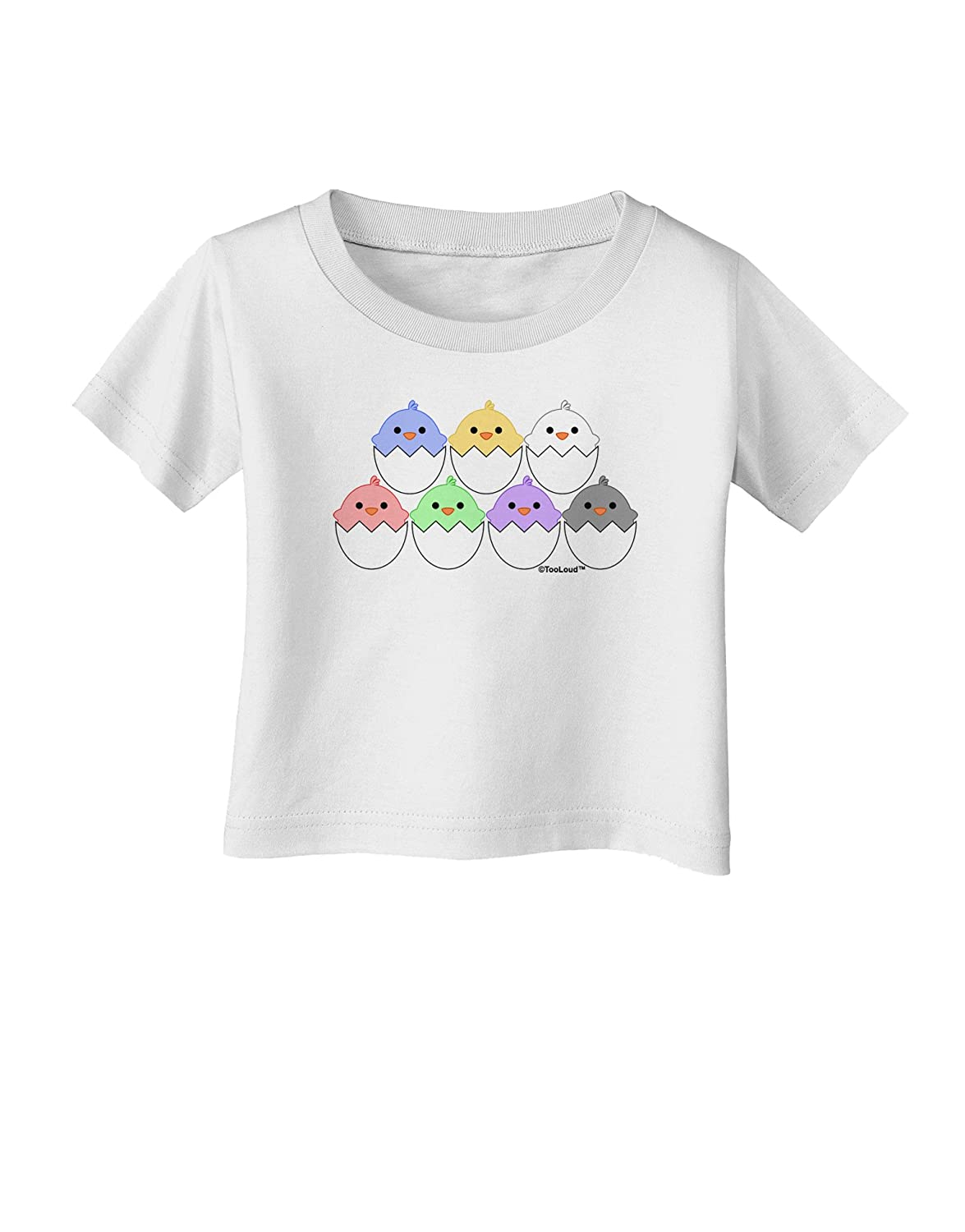 TooLoud Cute Hatching Chicks Group Infant T-Shirt