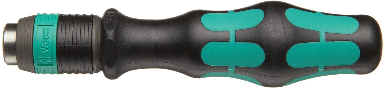 Wera Kraftform 813 R Hexagon Bitholding Screwdriver, Rapidator Quick-Release Chuck, 1/4-Inch Head, 90mm Blade Length Wera Tools 05051272001