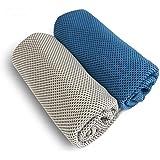 4包装。冷却タオルはスポーツタオル、アイスタオル、速乾タオルと放熱タオルの四種に分けられて、薄軽さ、強い吸水性、持ちやすさと紫外線を防ぐことなどの特徴があり、ジョギング、ヨガ、ゴルフや登山旅行などの屋外運動に適用します。