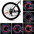 Fahrrad LED Speichenlicht, Bliplus Speiche Rad Licht Wasserdicht 32-LED Fahrrad Felge Lichter für Nacht, Outdoor-Fahrt