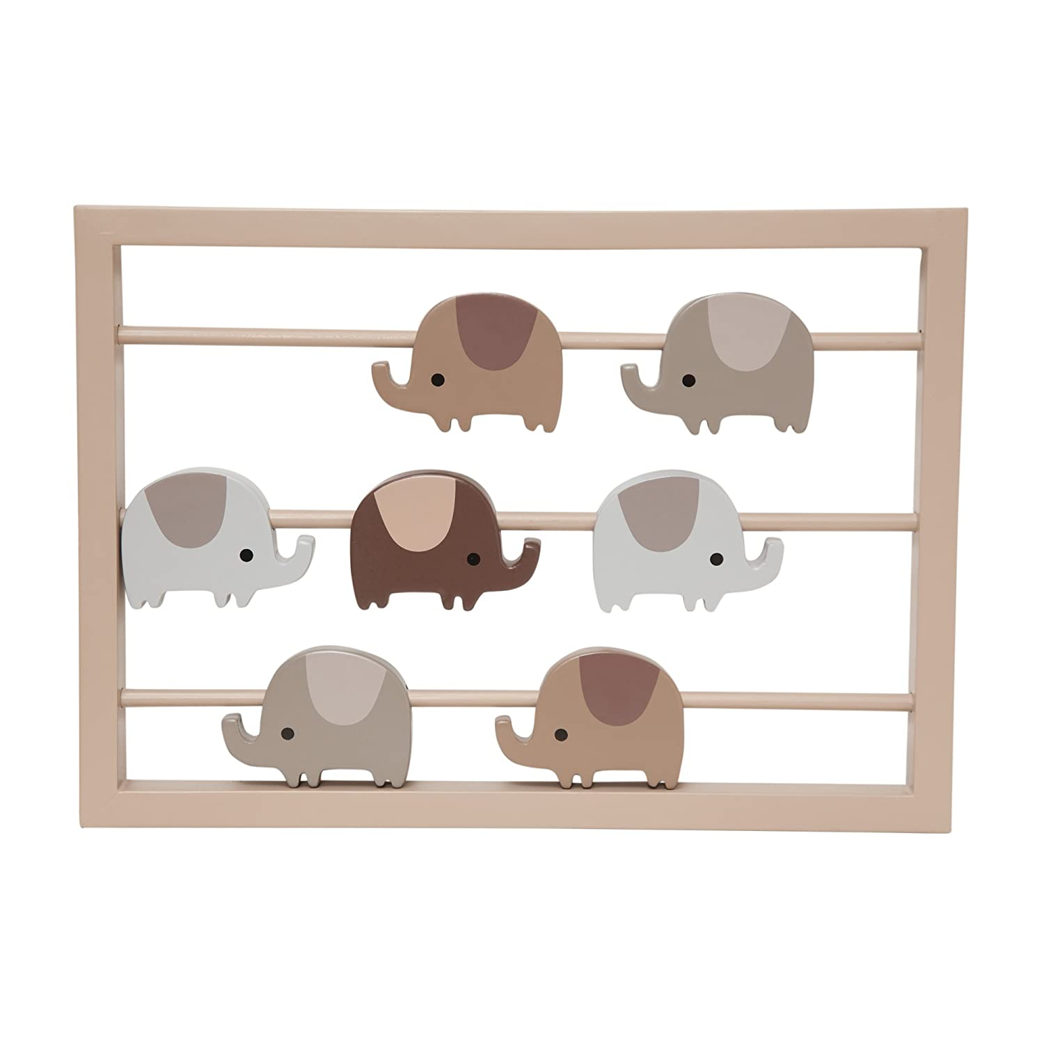 Hot Lambs & Ivy Oatmeal Cookie Wall Decor