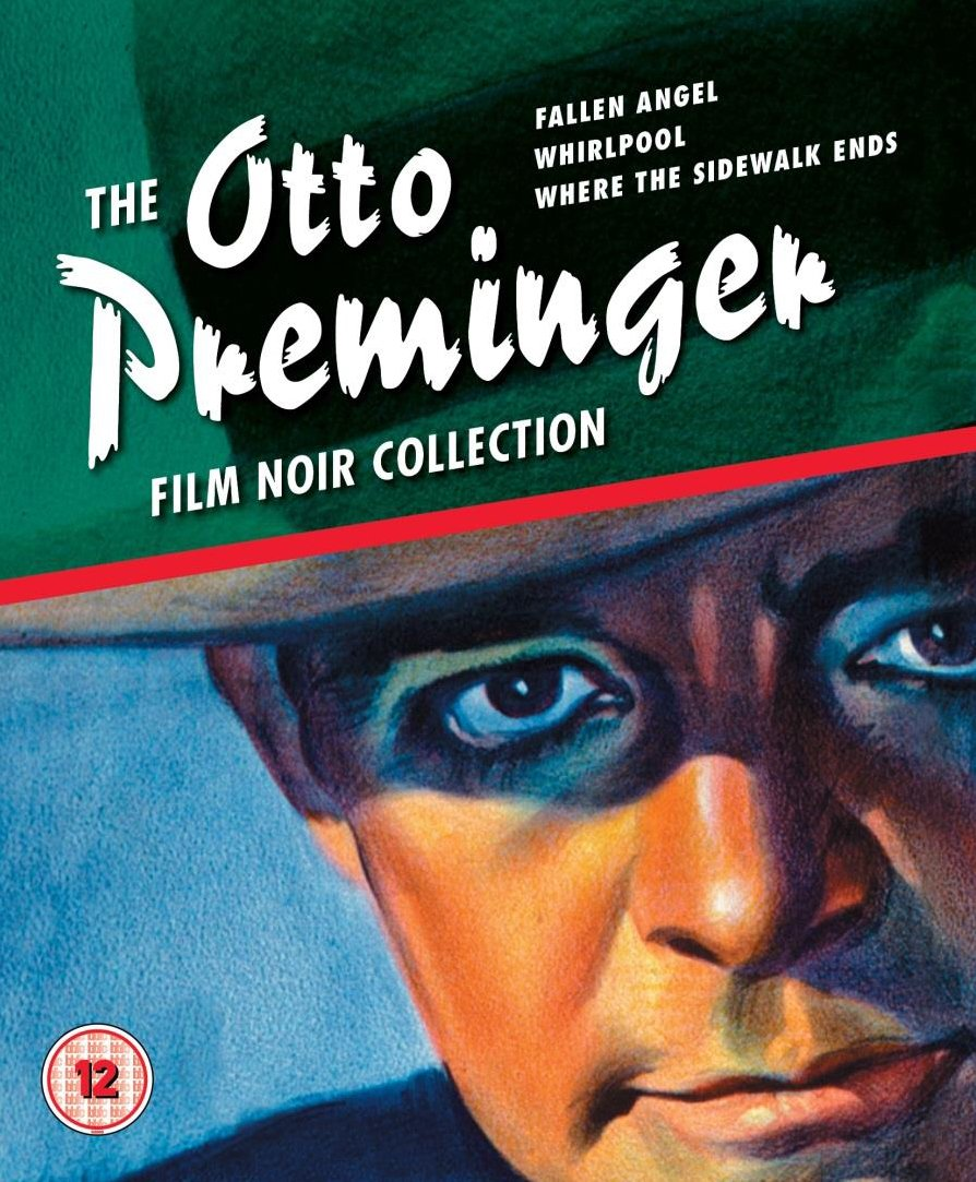 Otto Preminger Film Noir Collection Limited Edition 3 - disc Blu-ray ...