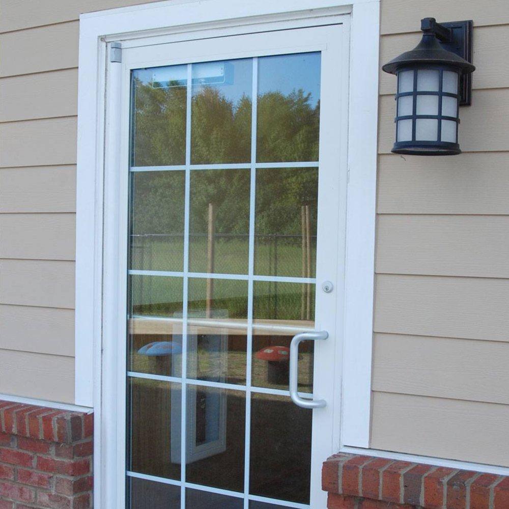 Complete Door Safety Shield Set | Finger Pinch Protector Guards for Door Hinges (96'', Brown) by Fingersafe USA (Image #6)