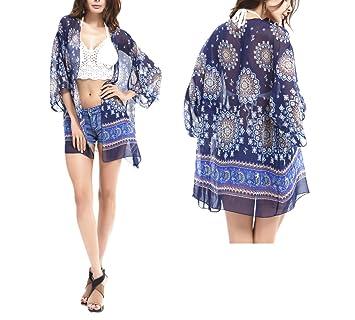 Chickwin Playa Blusa Kimono Cardigan af11ffb0bb56