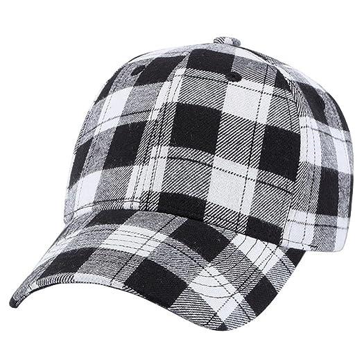 0fe816af98c69 Baomabao Women Men Women Baseball Printed Stars Cap Snapback Hat Hip-Hop  Adjustable (Black) at Amazon Women s Clothing store