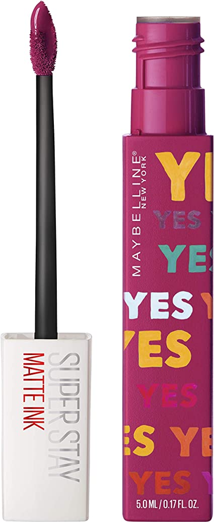 Maybelline New York - Superstay Matte Ink, Pintalabios Mate de ...