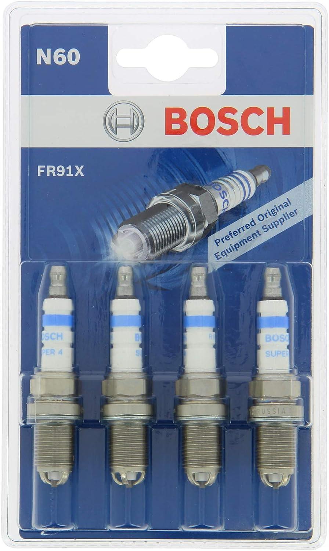 4 X BOSCH ORIGINALE 0242240561 per candele