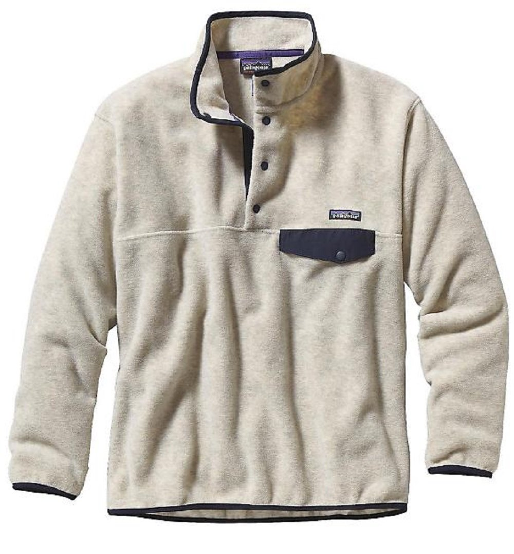 Patagonia Synchilla Snap-T Fleece Pullover - Men's Oatmeal Heather, L