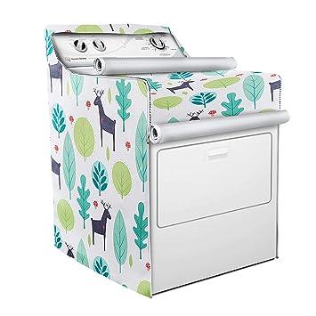 Funda para lavadora y secadora, apta para máquina de carga ...