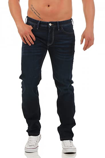 Big Seven Morris Night Blue Regular Herren Jeans Hose