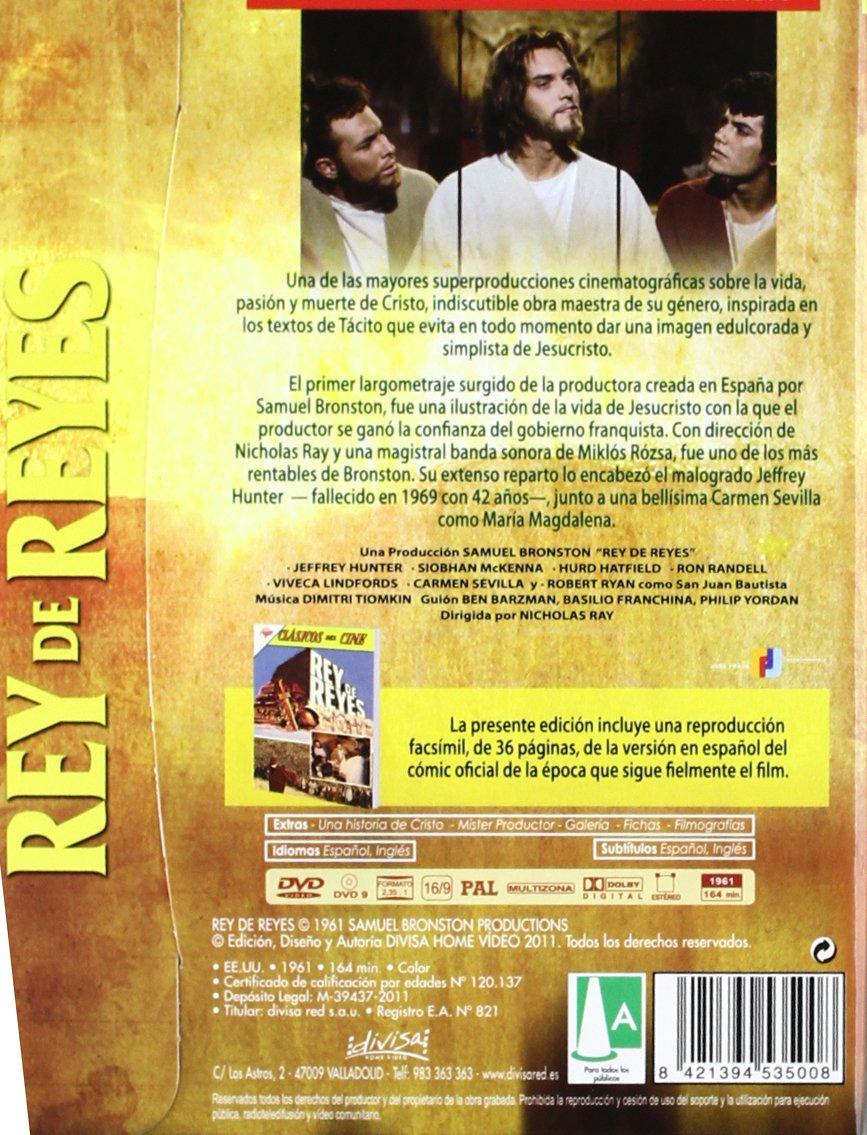Rey de reyes (Edición especial cómic) [DVD]: Amazon.es ...