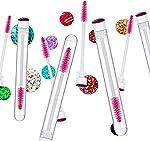 i-Laesh 20 Pcs disposable mascara brushes, Mascara Wands with Tube -