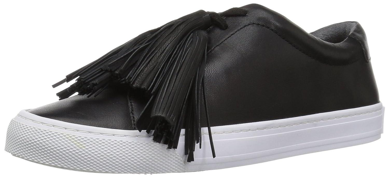 Loeffler Randall Women's Logan (Nappa Tassel) Sneaker B071XDK42F 11 B(M) US|Black