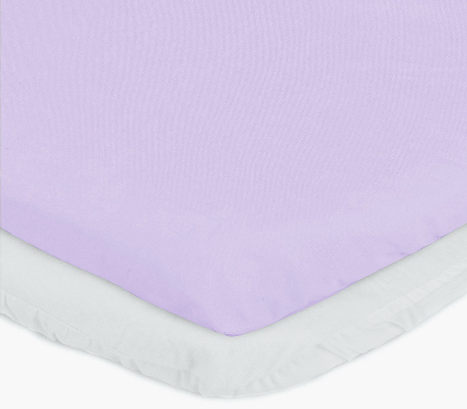 aBaby Cradle Mattress Protector and Sheet Combo 15 x 33 White