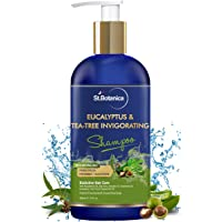 StBotanica Eucalyptus & Tea Tree Oil Hair Repair Shampoo - 300ml - No SLS/Sulphate, No Parabens, No Silicon