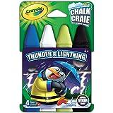 Crayola Build Your Box Thunder N Lightning Chalk (4 Count)