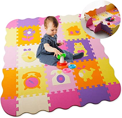 Toddler Baby Kids Play Mats Floor Puzzle Mat Foam Patchwork Children Crawling