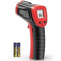 Termómetro Infrarrojo, Eventek Digital Laser IR Sin Contacto, Pistola de Temperatura, No se Puede Medir la Fiebre, Rojo…