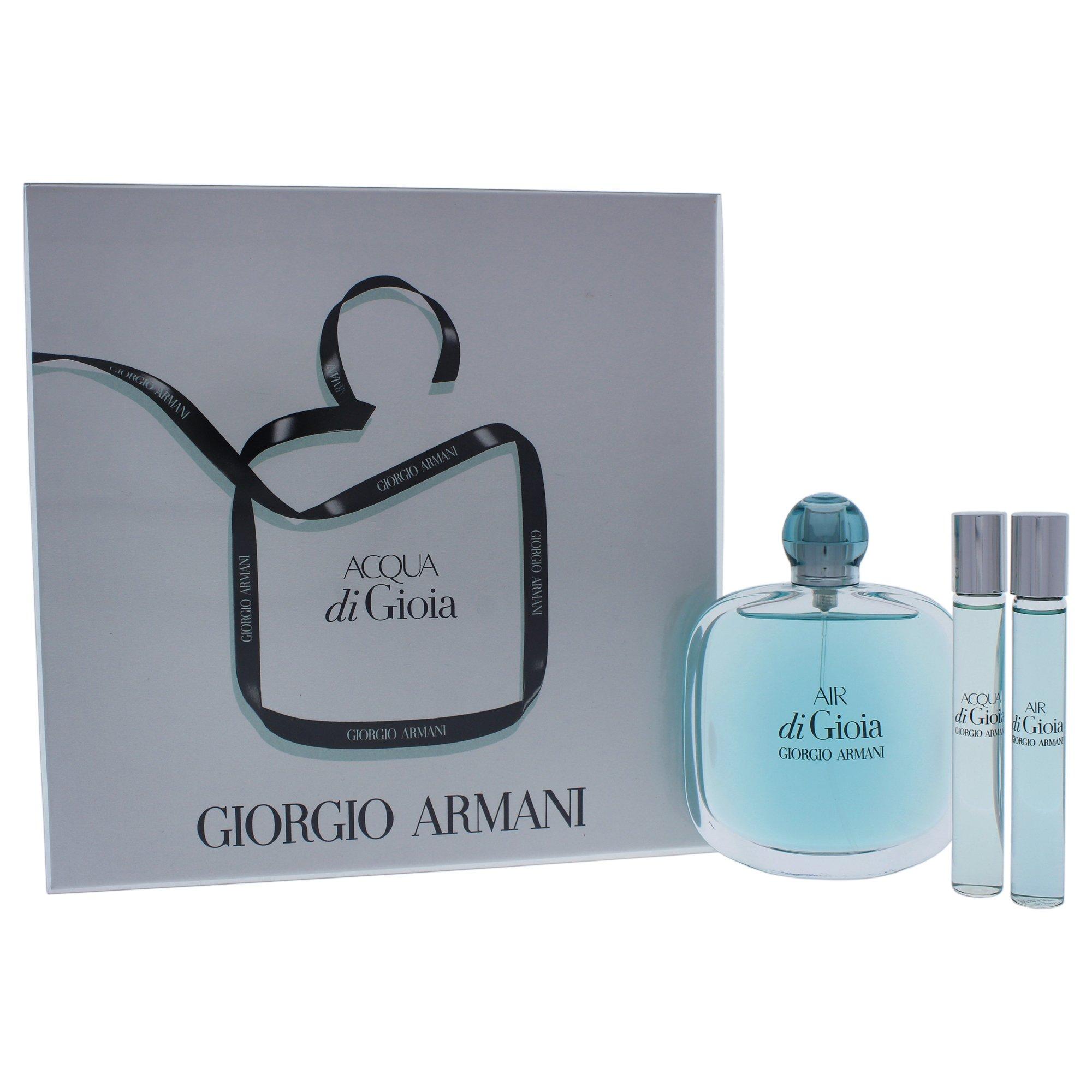 Giorgio Armani Air Di Gioia Eau De Parfum & Rollerball Kit for Women, 3 Count