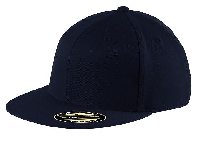 Port Authority Men s Flexfit Flat Bill Cap at Amazon Men s Clothing store  41e298bf787e