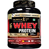 MuscleXP 100% Whey Protein (New WHEY Gold Standards) - 2Kg (4.4 lbs), Double Chocolate