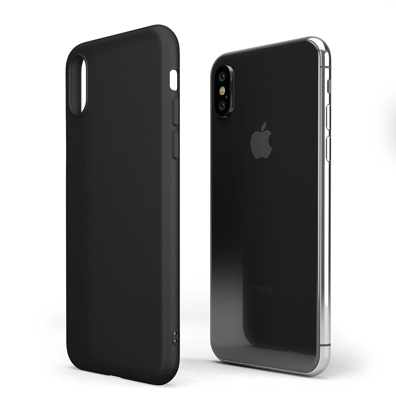 Matteflex Opaca Iphone Per 0 X Coverstyle® Custodia Flessibile 6 Nero kZiXPu