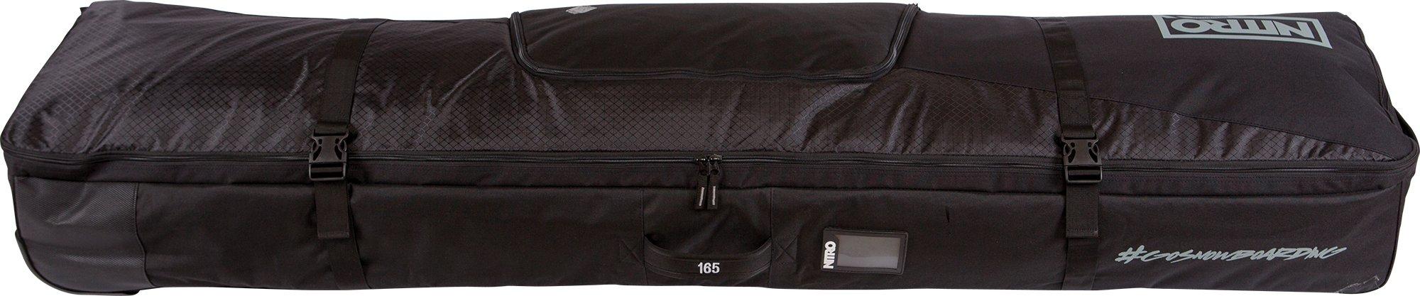 Nitro Tracker Wheelie Snowboard Bag 165cm (black) by Nitro