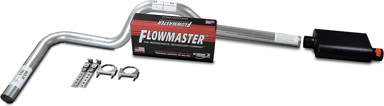 XsvFLO Exhaust Kits Shopline Single exhaust system 3in AL pipe No Muffler