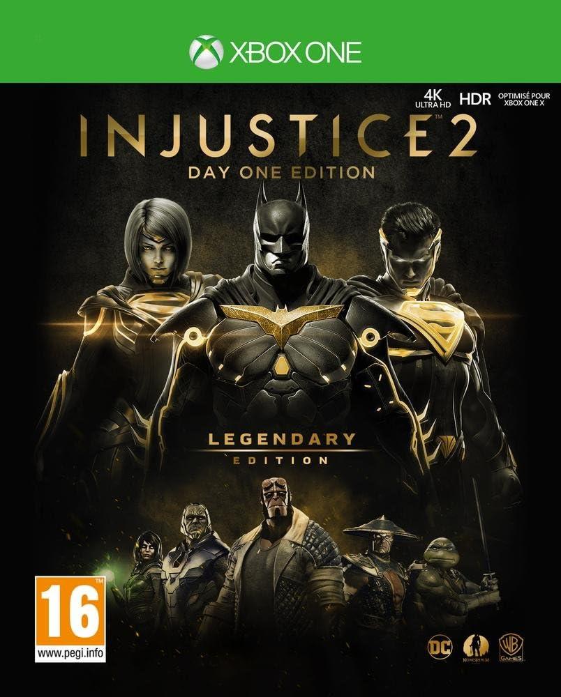 INJUSTICE 2 LEGENDARY EDITION – Edition limitée Steelcase – Inclus un Coin Collector - PlayStation 4 [Importación francesa]: Amazon.es: Videojuegos
