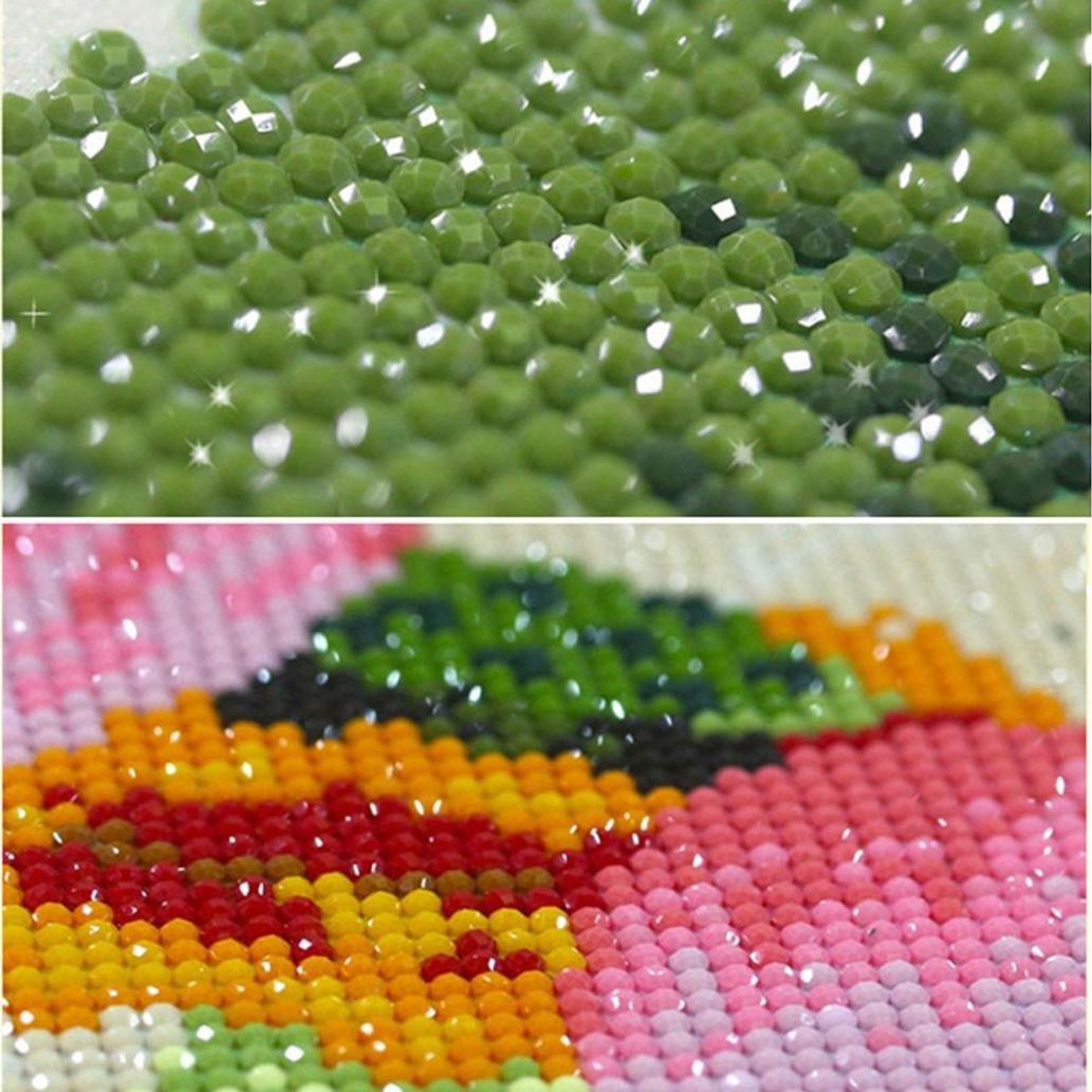 DIY 5D Diamond Painting Kit Diamond Sticker Stitch Painting Sets Partial Drill Diamond Painting 26 Colors Pandaie 5D Diamond Painting Kits for Adults