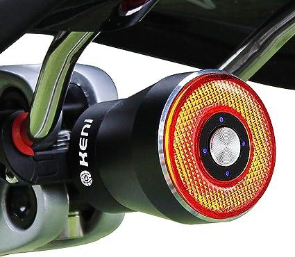 1pc Waterproof Durable Lightweight Practical Warning Light Bike Tail Light Women