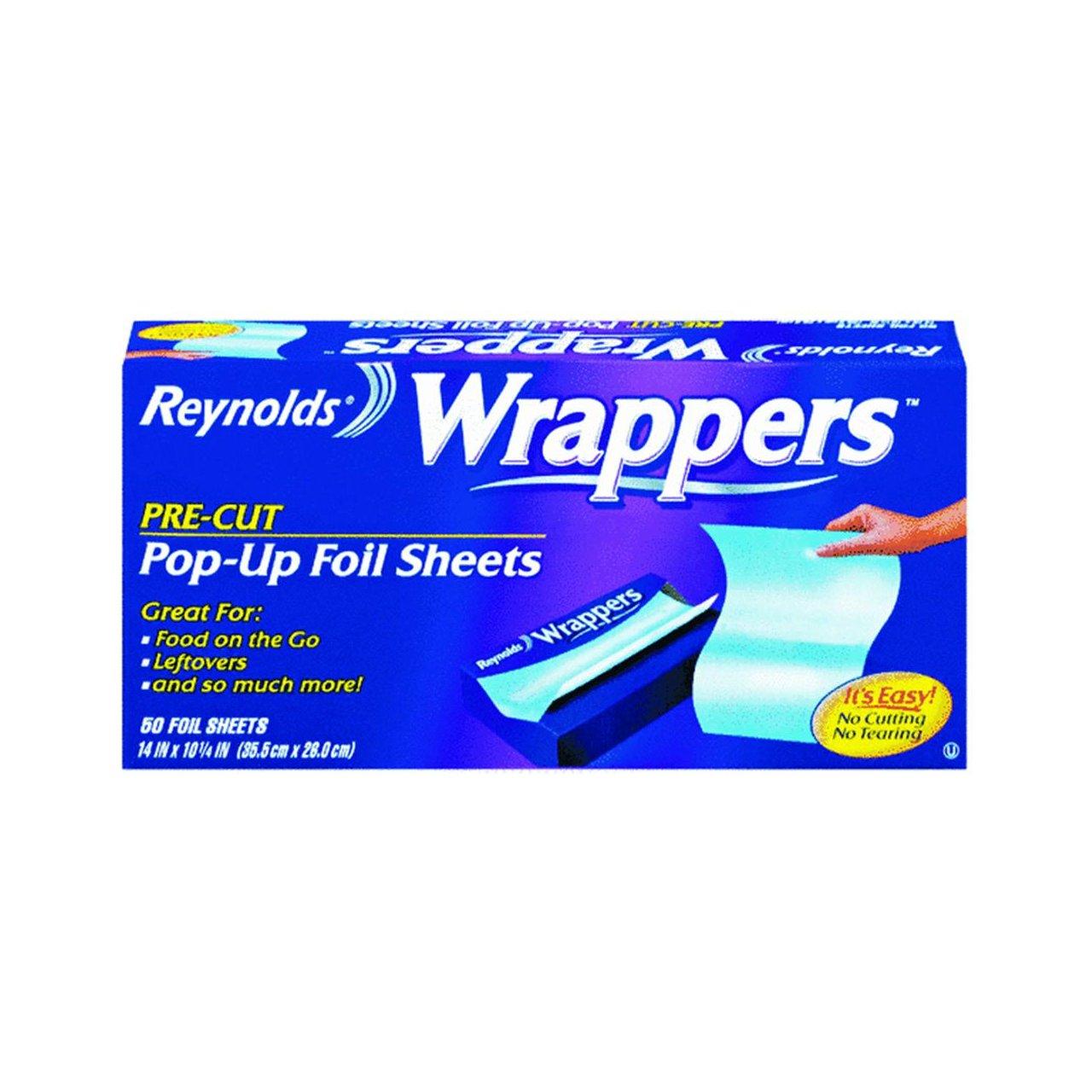 Amazon Com Reynolds Wrapper Pre Cut Pop Up Foil Sheets