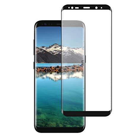 Temsesen Panzerglas Schutzfolie Fur Samsung Galaxy S8 Full Screen