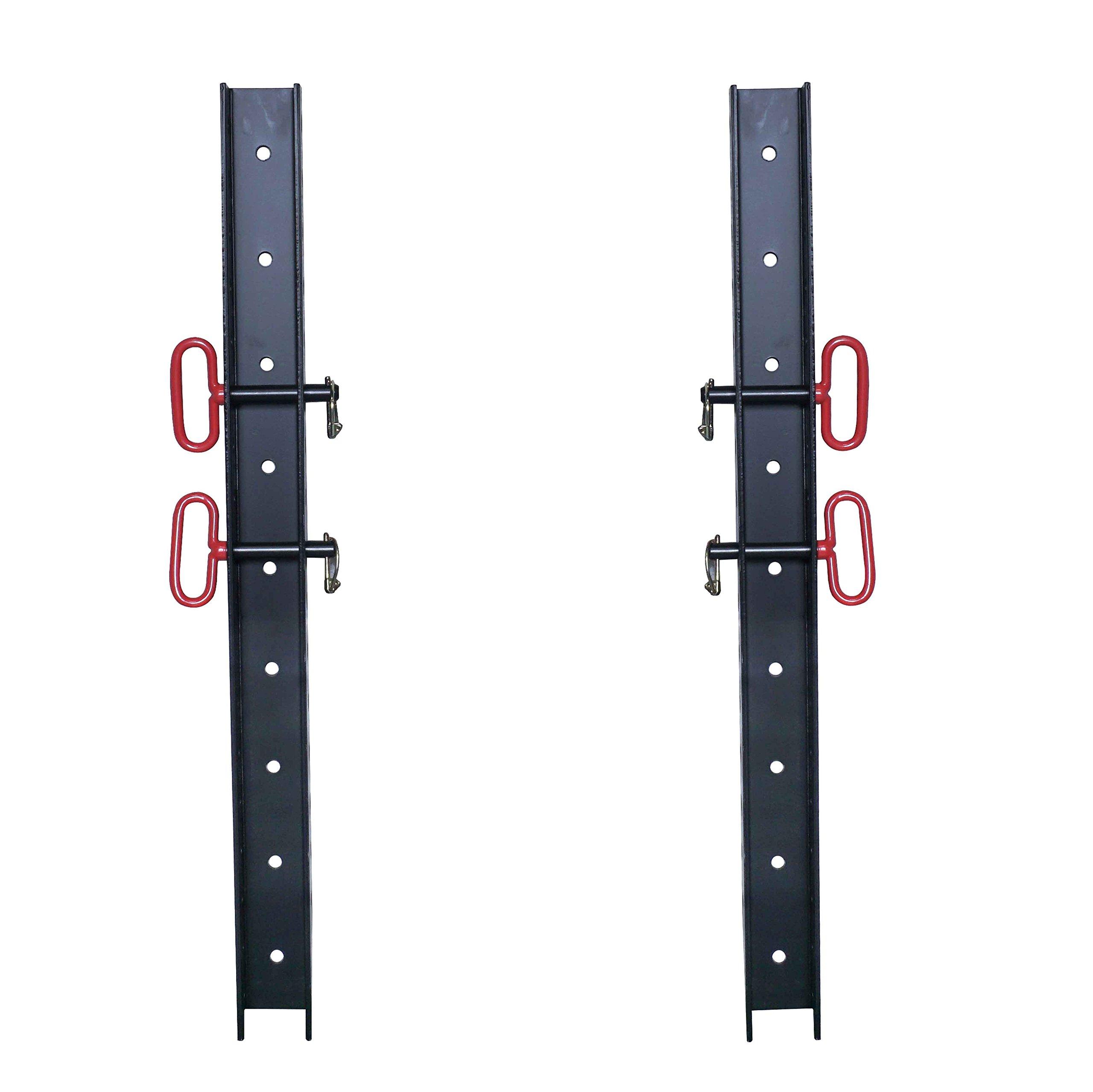 (2) 3'' x 3'' Wall Storage Strip for Titan X-3 Power Rack Accessories & Attachment