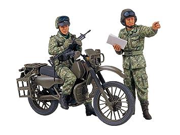 Tamiya - Maqueta para montar, set de motocicleta militar de reconocimiento de la JGSDF (35245)